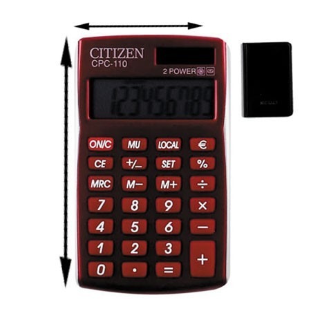 Калькулятор Citizen CPC-110RDWB