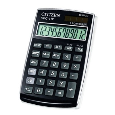 Калькулятор Citizen CPC-112BP